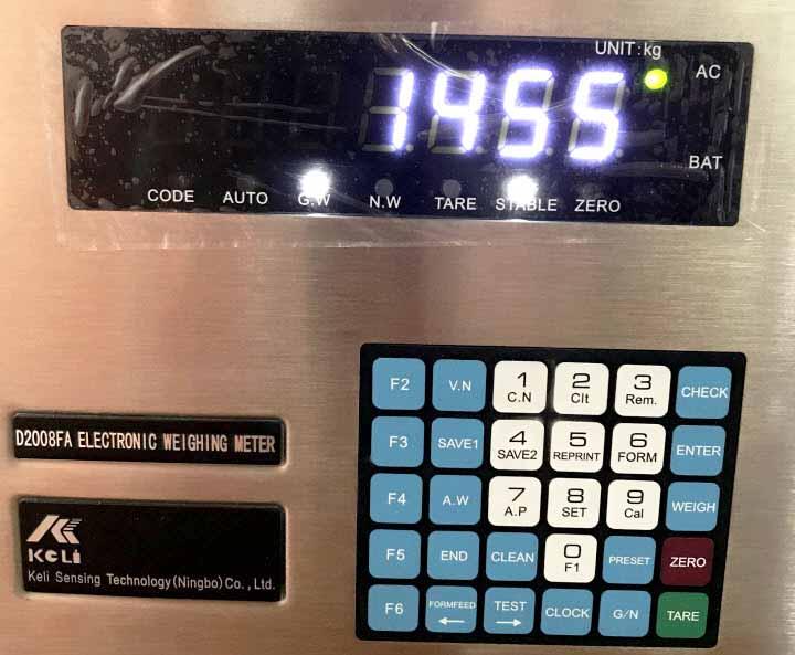 D2008FA test MODBUS (RS485)