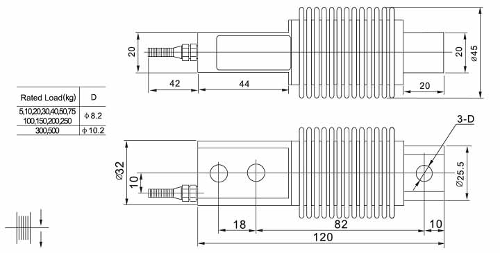 Load cell HSX-A