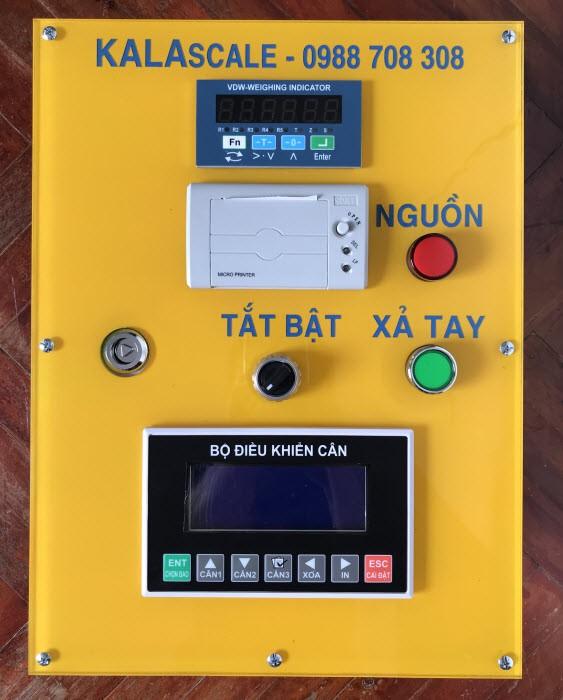 Tủ điều khiển cân đóng bao, cân định lượng, cân phễu KCB-S