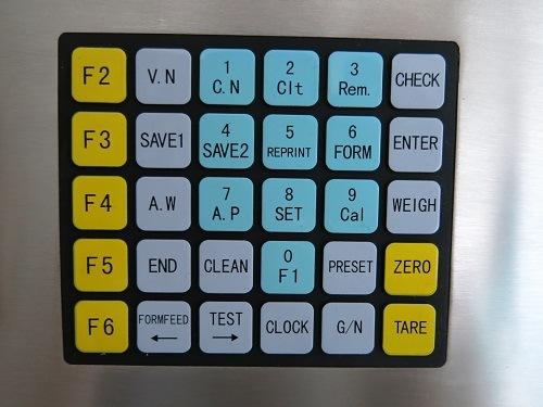 Bàn phím Digital Weight Indicator Keli D2008FA